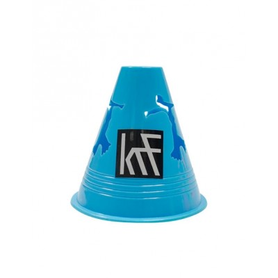 10 Skater Cones With Bag - Blue