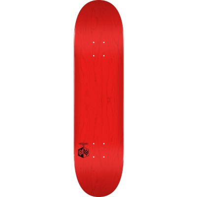 "Mini Logo Chevron Detonator Skateboard  Deck 8"" - Red"