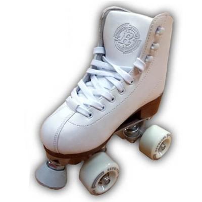 Revolver Figure Quad Skates - White