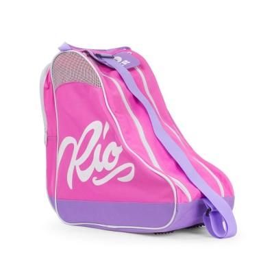 Rio Roller Script Skate Bag - Pink/ Lilac