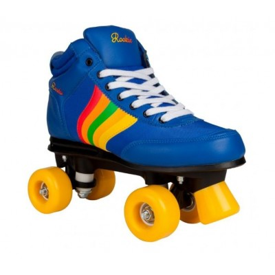 Rookie Forever Retro Quad Roller Skates - Navy