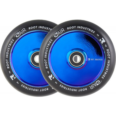 Root Air Pro Scooter Wheels 110mm - Black/Blue Ray