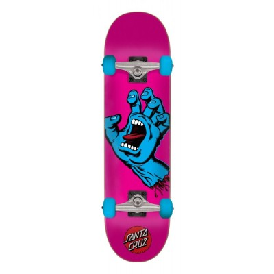 Santa Cruz Screaming Hand Complete Skateboard - Pink 6.75""