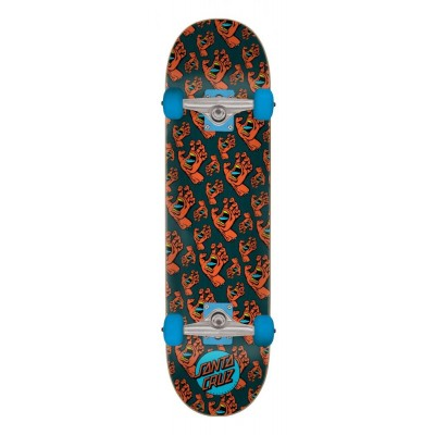 Santa Cruz Hands Allover Complete Skateboard - 7.5""