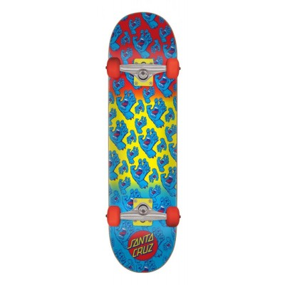 Santa Cruz Hands Allover Complete Skateboard - Multi 7.8""