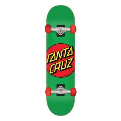 """Santa Cruz Classic Dot Complete Skateboard - Multi 7.80"""""""
