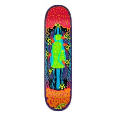 """Santa Cruz Gartland Lava Lamp Pro Skateboard DeckMulti - 8.28"""""""