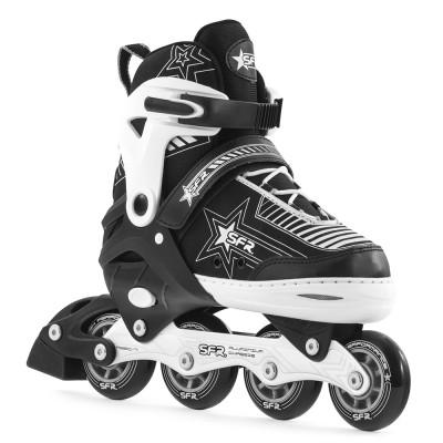 SFR Pulsar Adjustable Inline Skates - Silver