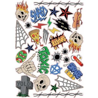 SFR Sticker Sheet - SKULLS