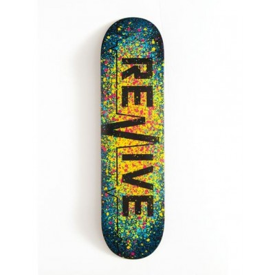 "Revive Splatter 3.0 Skateboard Deck - 7.75"""