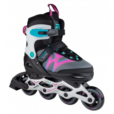 Skatelife Motion Adjustable Inline Skates - Black/Pink