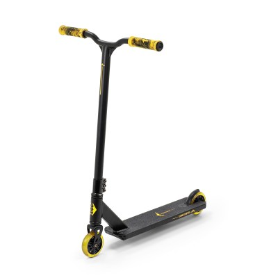 Slamm Classic V8 Complete Scooter - Black/Yellow