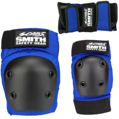Smith Scabs Youth Triple Set - Blue