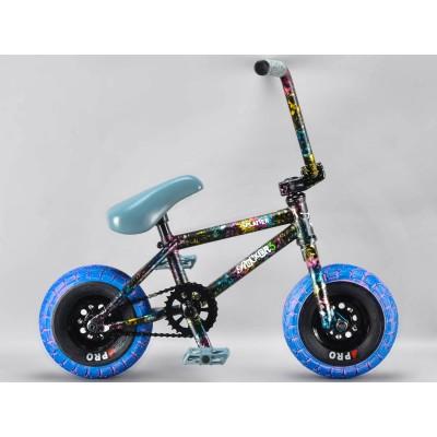 Rocker 3+ Mini BMX - Crazy Splatter Fuel