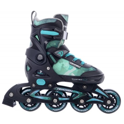 Tempish Dasty Adjustable Kids Inline Skates - Black