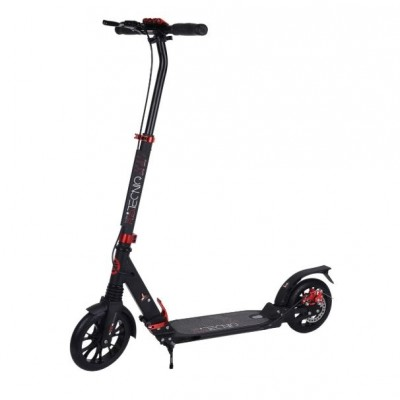 Tempish Tecniq 200mm Dual Brake Adult Scooter - Black/Red