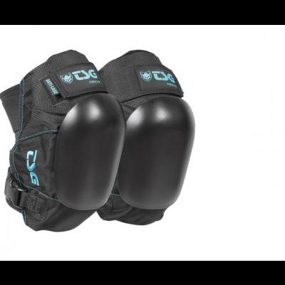 TSG Force V Knee Pads - Black/blue