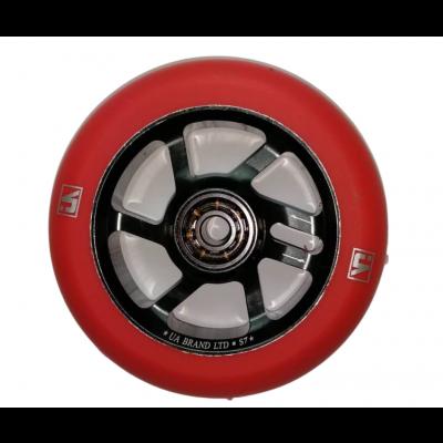 UrbanArtt S7 Scooter  Wheel 100mm - Red/Black