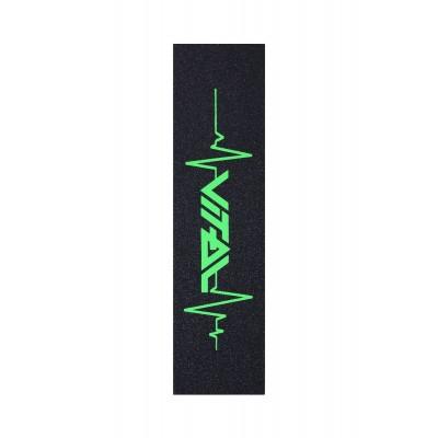 Vital Heartbeat Scooter Griptape - Green
