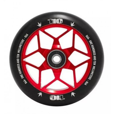 Blunt Diamond Scooter Wheels 110mm (Pair) -red
