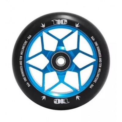 Blunt Diamond Scooter Wheels 110mm (Pair) Teal