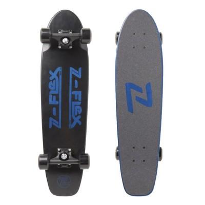 Z-Flex Knockout Cruiser Complete Longboard - Black