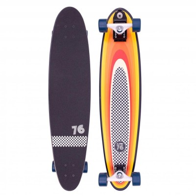 Z-Flex Surf-a-gogo Log Roll Complete Longboard - Multi