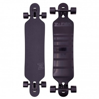 "Z-Flex Shadow Lurker Drop Through Longboard 41"" - Black"