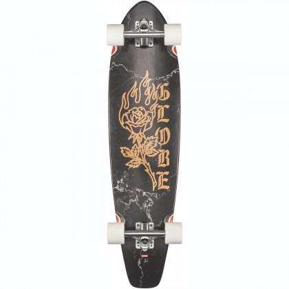 Globe The All-Time Black Rose longboard