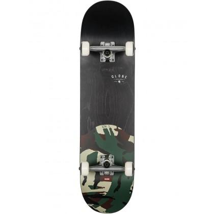 "Globe G1 Argo Black/Camo Complete Skateboard - 8.125"""