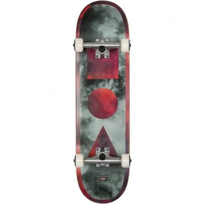 "Globe G1 Stack Black/Candy Clouds Skateboard - 8.375"""