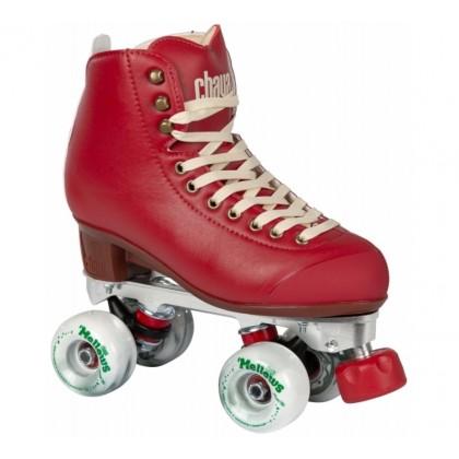 Chaya Lifestyle Melrose Premium Roller Skates - Berry Red