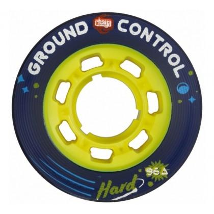 Chaya Ground Control Hard Yellow Roller Derby Wheels - 4-Pack