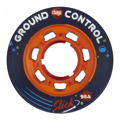 Chaya Ground Control Slick Red Roller Derby Wheels - 4-Pack