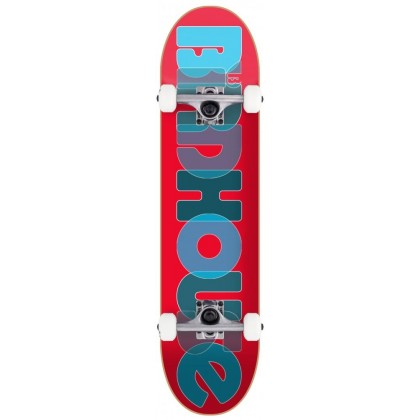 """Birdhouse Stage 1 Opacity Logo Complete Skateboard Red - 8"""""""