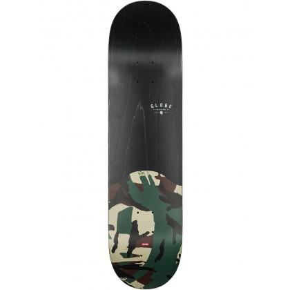 "Globe G1 Argo Black Camo Skateboard Deck - 8.125"""