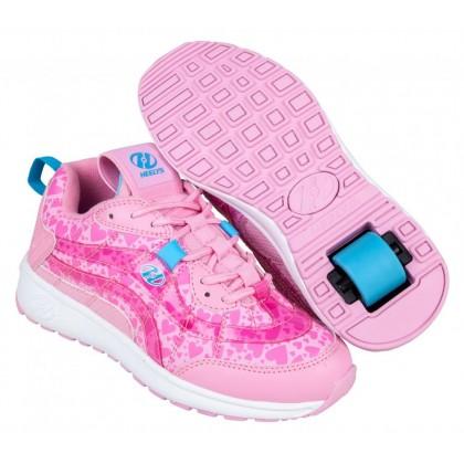 Heelys Nitro (HE100740)  - Light Pink/Pink Hearts
