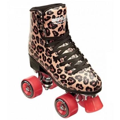 Impala Quad Roller Skate - Leopard