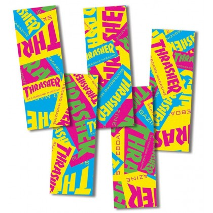MOB Thrasher Retro Graphic Grip Strips (5 Pack)