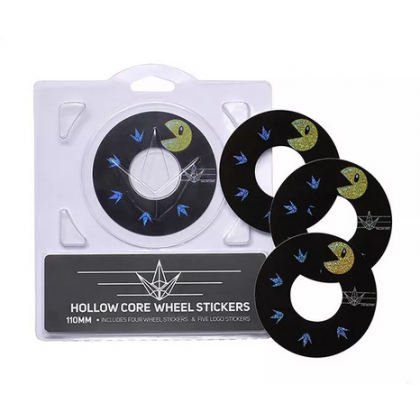 Blunt Hollowcore 110mm Stunt Scooter Wheel Stickers - Pacman