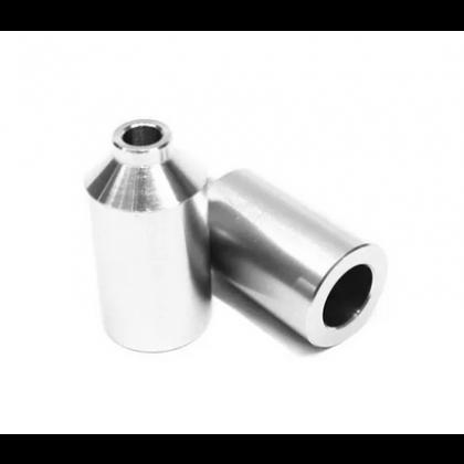 Blunt Aluminium Stunt Scooter Pegs - Silver