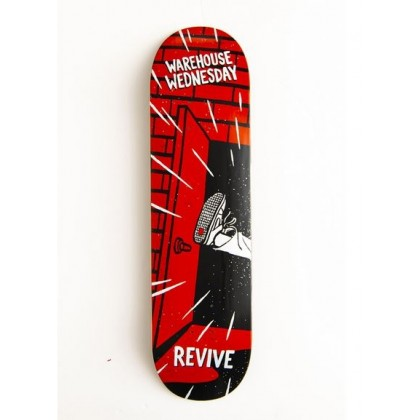 Revive Warehouse Wednesday Skateboard Deck - 7.5""