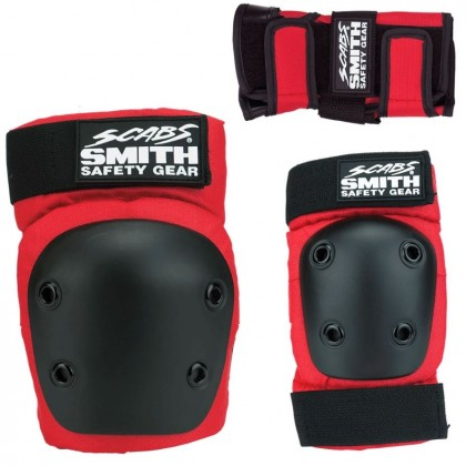 Smith Scabs Youth Triple Set - Red