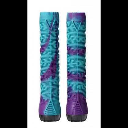 Blunt V2 Scooter Grips - Teal/Purple